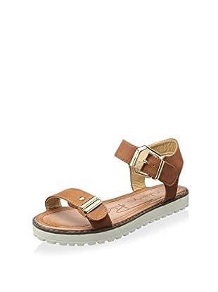 Modern Rush Women's Alor Ankle-Strap Sandal (Tan)