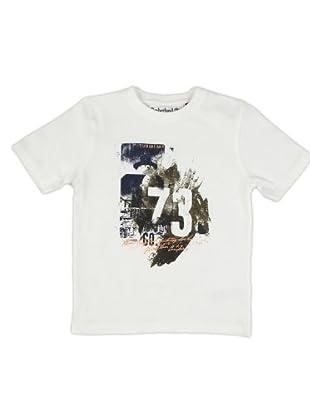 Timberland Kids Camiseta Print (Beige)