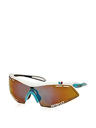Briko Sonnenbrille Endure Pro Team weiß/türkis