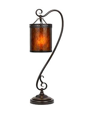 Bristol Park Lighting Mica Table Lamp, Dark Bronze