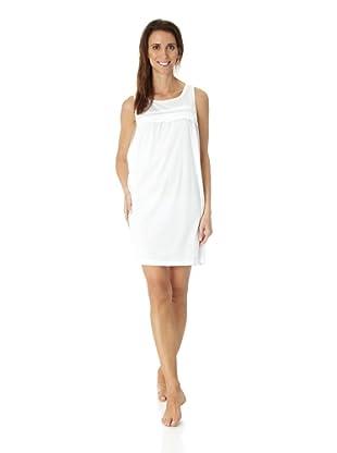 Hanro Nachthemd o.Arm 90 cm Stella (Weiß)
