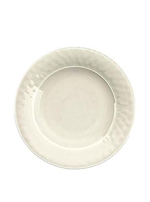 Color Wash Melamine Dinner Plate, Solid White
