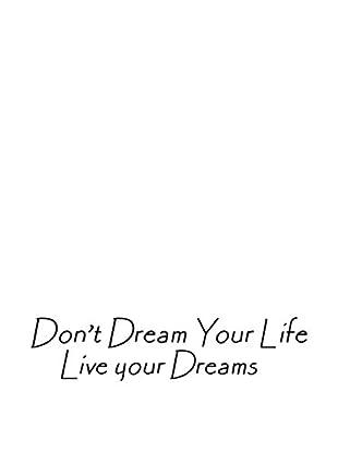 SuperStudio Wandtattoo Live Your Dreams