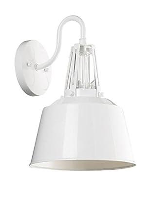 Feiss 1-Light Sconce, Hi Gloss White