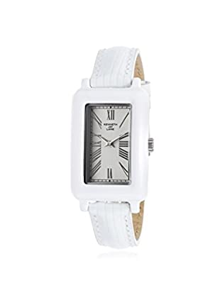 Kenneth Jay Lane Women's KJLANE-0910S-BSET Moderne White Rectangular Watch with Three Interchangeable Bands