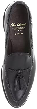 Allen Edmonds Adams: 7617 Black Burnished Calf