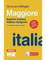 Diccionario Bilingue Maggiore Espanol-Italiano Italiano-Spagnolo / Maggiore Bilingual Dictionary Spanish-Italian Italian-Spanish