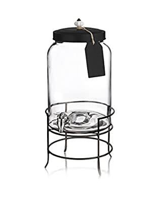 Style Setter 3-Gal. Franklin Beverage Dispenser with Tag, Stand & Ceramic Knob