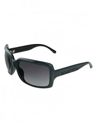 Benetton Unisex Sonnenbrille 1005546 (Dunkelgrün)