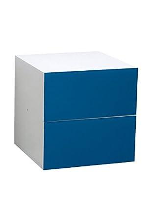 Leonardo Schubladencontainer blau
