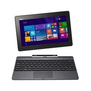Asus Transformer Book 10.1 Inch Detachable 2-in-1 Touchscreen Laptop 64GB - Grey Metal (T100TAM-C1-GM)