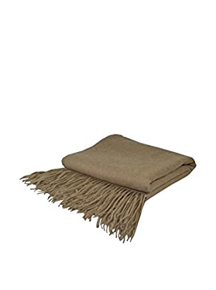 PÜR Cashmere Signature Blend Throw, Sand