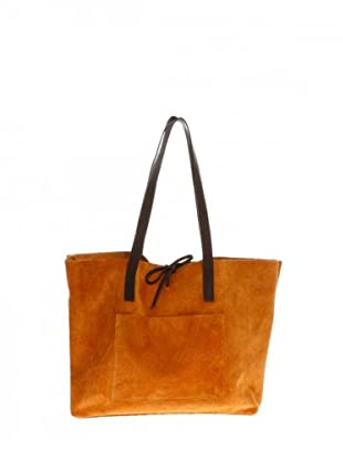 Elysa Tote-Bag Wildleder (Orange)