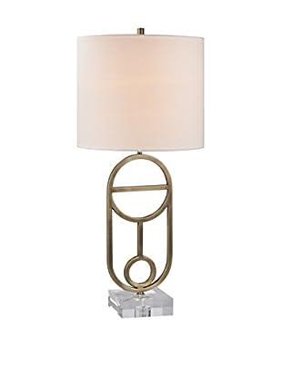 Artistic Lighting Table Lamp, Antique Brass