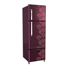 Whirlpool 260L 283D PROTTON DLX Three Door Refrigerator-Wine Orchid