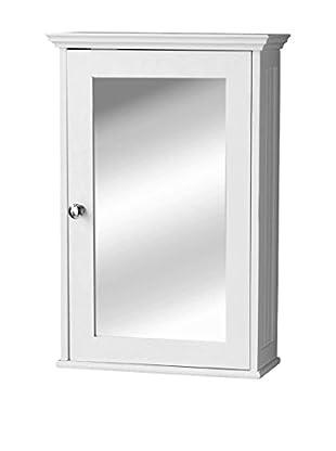 Premier Housewares Spiegelschrank Portland weiß
