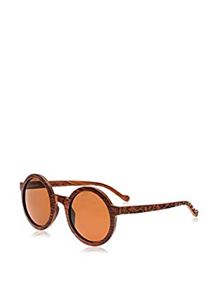 Earth Wood Sunglasses Sonnenbrille Canary (49 mm) rot