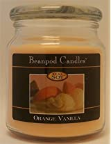 Beanpod Candles, Orange Vanilla, 16-Ounce