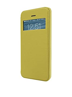 Unotec Hülle Flip-S iPhone 5 / 5S gelb