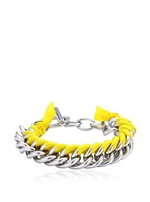 Dyrberg/Kern Armband Hilaria Ss Yellow silber/gelb