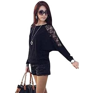 Elegant Style Lace Long Sleeve Top For Women