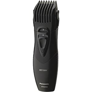 Panasonic Beard Trimmer, Men's, Cordless with Wet/Dry Convenience, ER2403K