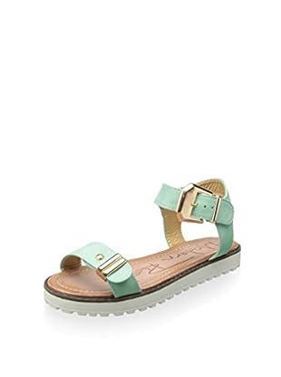 Modern Rush Women's Alor Ankle-Strap Sandal (Mint)
