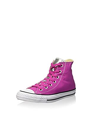Converse Zapatillas abotinadas All Star Hi Canvas/Metal Silve