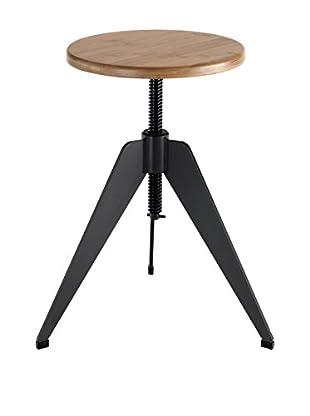 Contemporary Wood Hocker Arko
