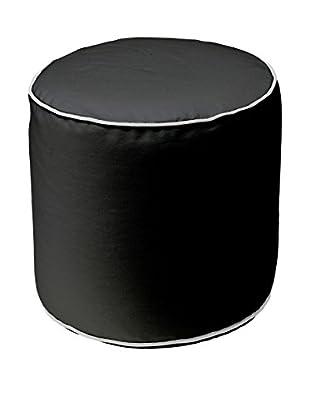 13casa Puff Bicolor 5 Negro
