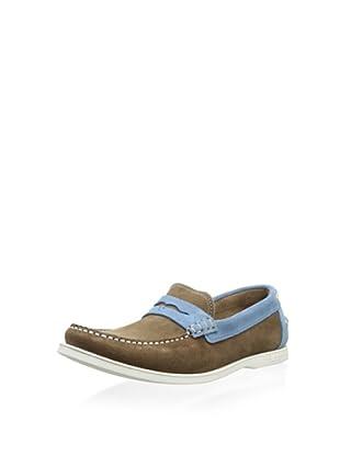 Ted Baker Men's Seelo Loafer (Brown/Blue)