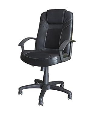 Office Ideas Bürostuhl Lawyer 26  schwarz 67,5 x 70,5 x 113H cm
