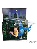 "Agents Of Truth 3 D Helecopter Cardboard Stand Up 50"" X 67"""
