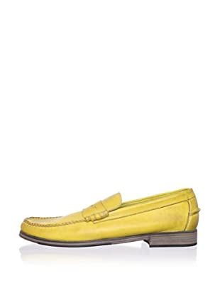 J Artola Men's Lennon Loafer (Yellow)