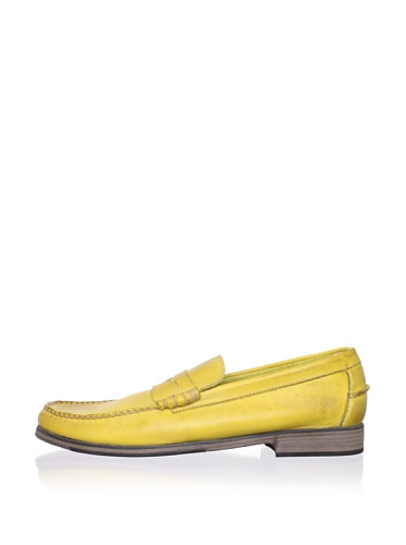 J Artola Men's Lennon Loafer (Burnished Yellow)