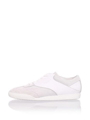 Calvin Klein Men's Classic Sneaker (White)