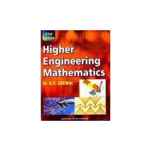 Higher Engineering Mathematics by B.S.Grewal 43rd Edition