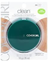 (3 Pack) CoverGirl Clean Sensitive Skin Pressed Powder Tawny (N) 265, 0.35 Ounce Pan