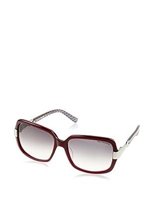 Trussardi Sonnenbrille 12811 (56 mm) bordeaux/weiß