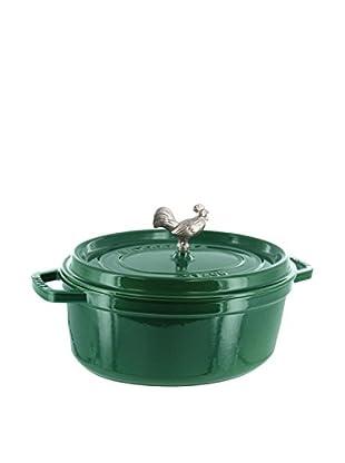 Staub Coq Au Vin Cocotte (Emerald)