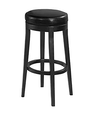 Armen Living Backless Swivel Barstool