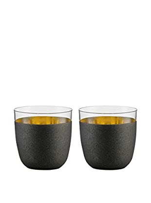 Eisch Set of 2 Cosmo 13.8-Oz. Stemless Tumblers