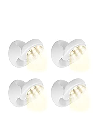 Unotec Set Led 4 Uds. LED Motion Sensor 360