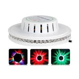 Tucasa DW-1 Revolving LED Laser Light with Sensor (Multicolor)