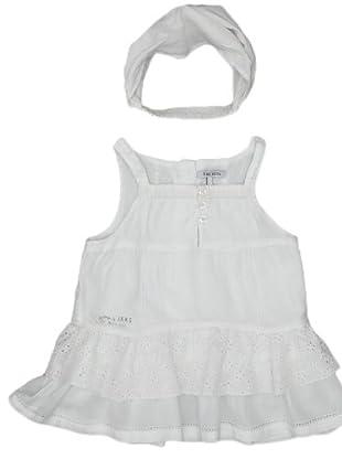 Ikks Vestido Calado (blanco)