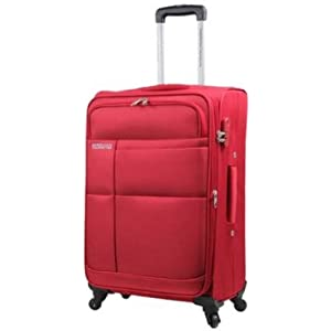 American Tourister Speed Fabric 55 cms Crimson Red Carry-On (88X (0) 00 001) Small Luggage