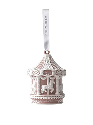 Wedgwood Baby's 1st Carousel 2015 Ornament, Pink