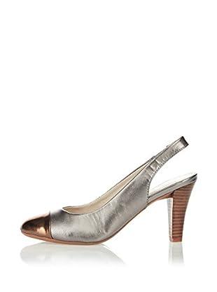 Lotus Zapatos de Talón Abierto Daisy (Bronce)