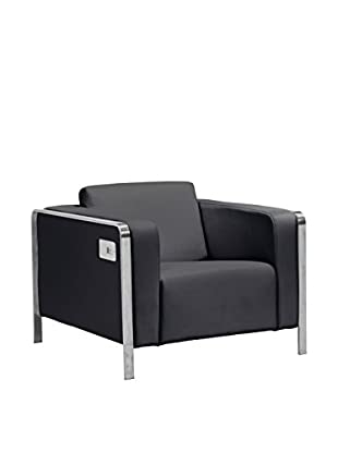 Zuo Modern Thor Faux Leather Smart Arm Chair