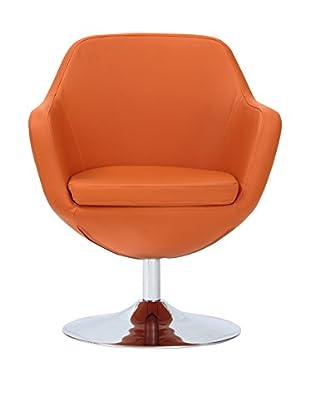Ceets Caisson Leisure Chair, Orange